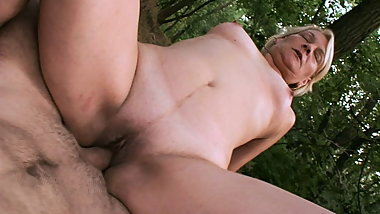 real outdoor pov with my stepmom