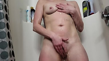 hot sexy milf shower masterbation