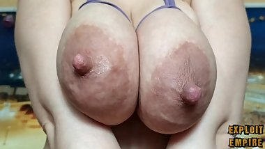 Two amazing tits will make your day. Cheer yourself up!