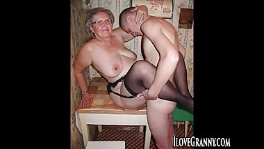 ILoveGrannY Compilation of Amateurs and Grannies