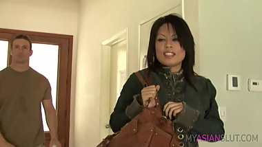 Horny asian mom fuck mechanic