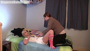 Mandie_Spanked_Diapered_for_School_by_Adriana