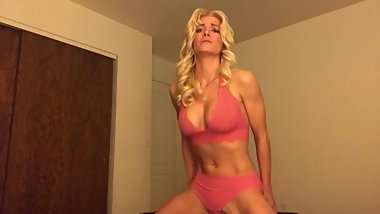 Blonde GF Talks & Teases in Non-Nude JOI