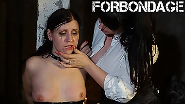 BadTimeStories - Lesbian Babe Tied Up And Abused By Her Kinky Mistress