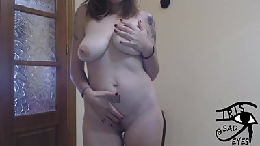Flashing me naked in webcam. Irisojostristes