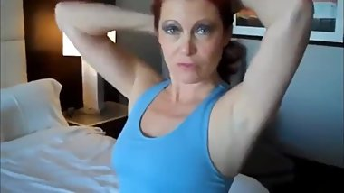 Fucking hard redhead stepmom after doing yoga