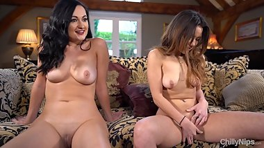 Two Girls Give JOI To Each Other
