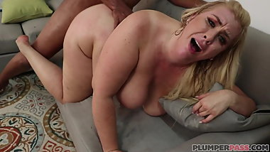 bbw Lila Lovely in Dark Meat for Lila at Plumper Pass