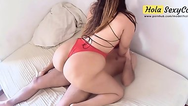 PAWG Latina MILF Has a Fat and Juicy Ass