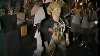 MILF having fun at mardi gras