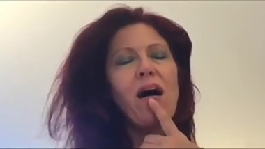 Fucking redhead mature MOM after night club
