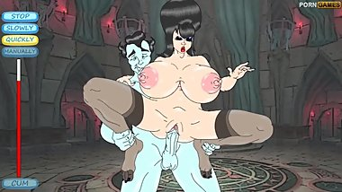 Slutty milf Elvire on her quest to fuck Count Dracula