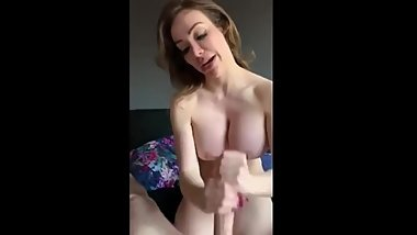 PERVY MOM ENJOYS STEPSONS LOAD ON HER FACE