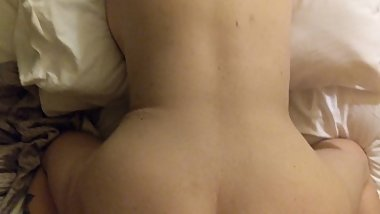 Hot mature takes young dick in hotel room