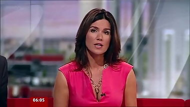Jerk Off To Hot MILF Susanna Reid Sexy Cleavage