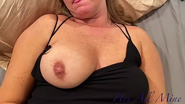 Hubby Gives Hot Milf A Nice Rimjob And Hot Dripping Creampie
