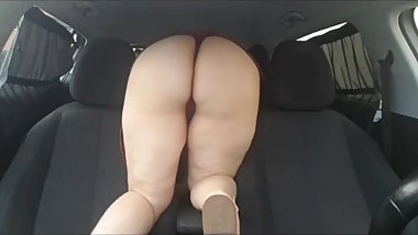 Step son fail fucking step mom being caught in the car by dad