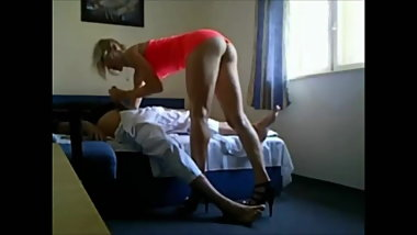 Hot Escort on hidden Cam