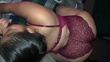Cheating Spanish Slut Fucking A Black Guy While Hubby is Away