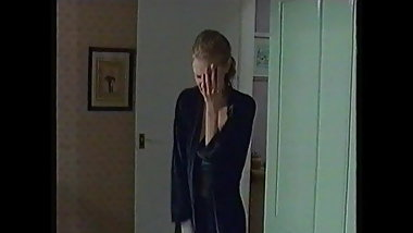 Donna Air in a Lovely Black Bra